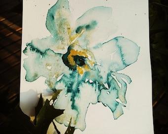 Flower gold dust