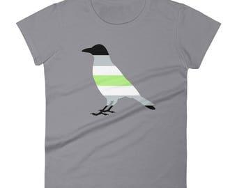 Agender Pride Women's short sleeve t-shirt lgbtq lgbt lgbtqipa queer gay transgender mogai
