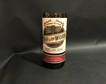 Sierra Nevada Trip in the Woods Barrel Aged Beer Series Bottle Candle. Made To Order !!!!!