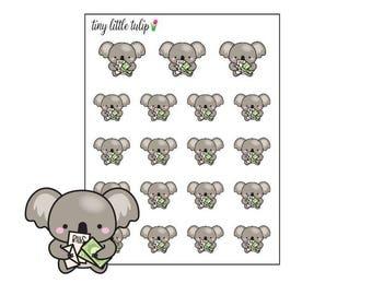 Planner Stickers Koala Pay The Bills
