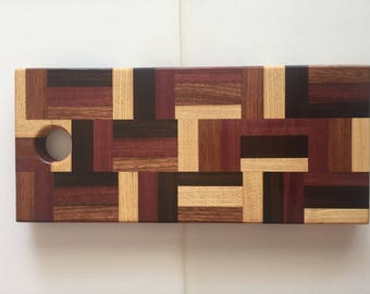 Basket Weave Cutting Board/Serving Tray