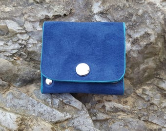 Blue Suede purse