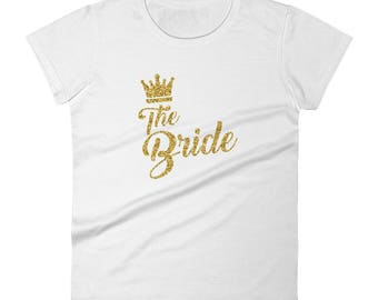 Bride shirt, bridal party shirts, bachelorette party, bridesmaid shirts, bachelorette shirt, wedding shirts, bride tee, bride to be