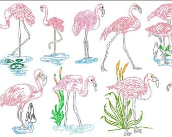Flamingo Blocks