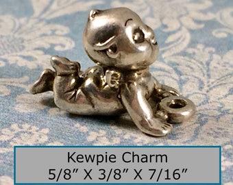 Adorable Vintage Sterling Silver Kewpie Charm