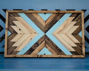 Upcycled Wood Wall Art