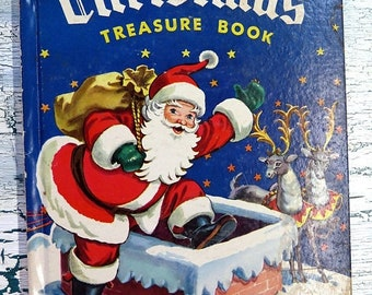 1950 The Christmas Treasure Book  Pop Up Page