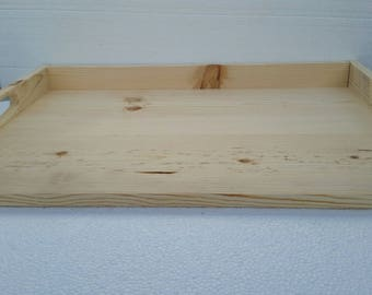 Primitive Country Shabby Unfinished Do It Yourself Stove Noodle Board Serving Tray