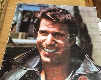 Record Happy Days Fonzie Favorites TVLP 177602R 1976 Record