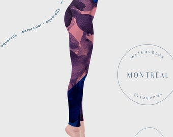 Yoga Leggings, Womens Yoga clothes, Woman Leggings, Dance Clothes, printed leggings, Aerial Yoga clothes, Women tights, high waisted