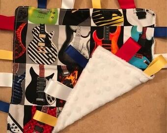 Electric Guitar Ribbon Comforter