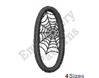 Spider Web O - Machine Embroidery Design