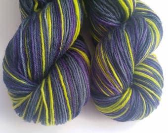 Archangel self striping Town sock base 75 Merino 25 Nylon Sock yarn