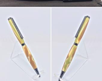 "Green Camo ""Slimline""Pen"