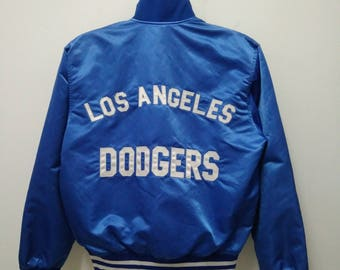 Vintage Los Angeles Dodgers Jacket Made in USA Medium Size