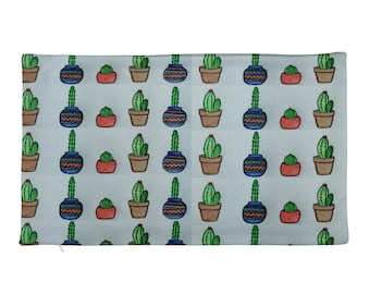 Potted Cactus Rectangular Pillow Case only