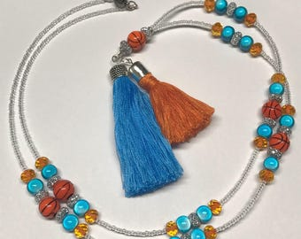 OKC Thunder Lanyard/Tassel Necklace