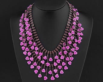 """Necklace """" The last rose of summer"""""""