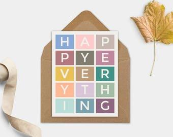 Christmas greeting card, Printable Christmas card, Printable greeting card, Last minute Christmas gift, Christmas gift printable, xmas gift