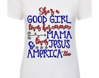 Good girl v-neck/tank/t-shirt