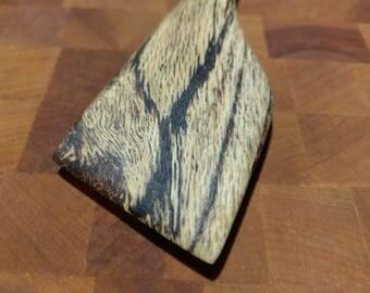 Spalted Oak Wooden Spatula Utensil FREE SHIPPING