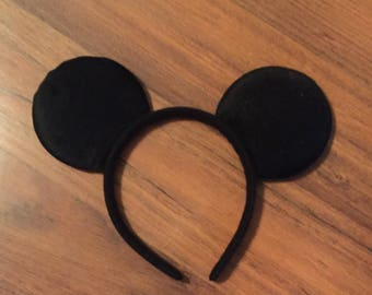 Ships Next Day!! Mickey mouse inspired ears