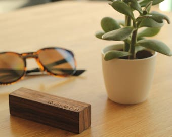 External charger solid wood MADE IN FRANCE