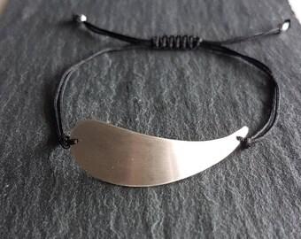 wing bracelet,handmade silver bracelet,sterling silver,gift for her,silver jewerly,bracelets,geometric designs,everyday bracelet,minimalist