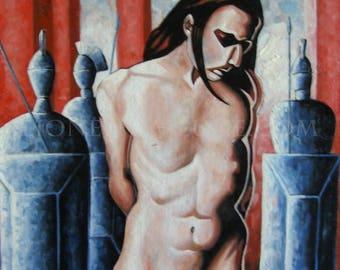 ECCE HOMO - Painting sacred scene