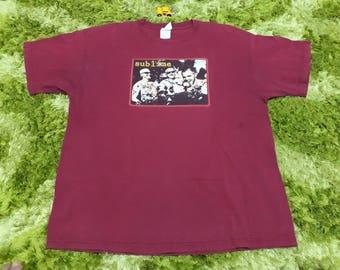 Free shipping!!!! 90s sublime ska punk band - skunk records - long beach CA - size XL