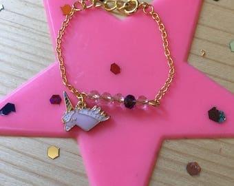 Unicorn child bracelet