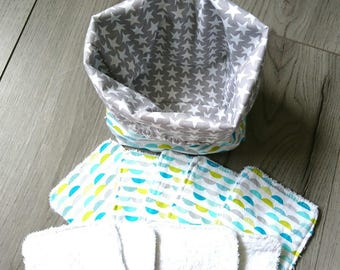 Pouch and wipes