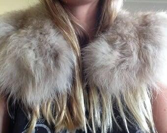 Rabbit Fur Collar (free shipping)