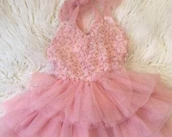 Summer Sale Whimsical Pink Tutu Dress.