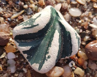 Pendant shaped sea worn pottery,lovely and so smooth,genuine surf tumbled Scottish beach find.Pemdant Perfect!!!