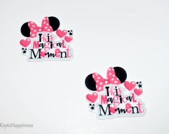 Minnie Mouse Resin R467