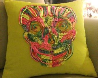 Skull Cushion Case