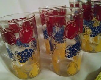 1950 juice glasses