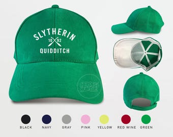 Slytherin Quidditch 1092 Baseball Caps Harry Potter Caps Slytherin Caps Tumblr Caps