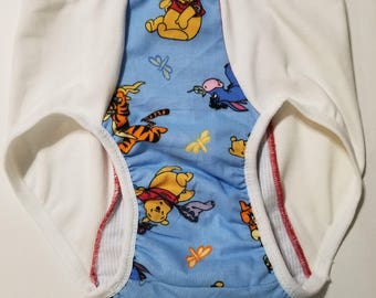 Pooh Tigger Print Adult Baby Training Pants ABDL