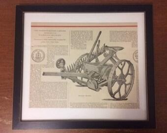 1880s Pulverizing Harrow