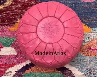 Authentic Moroccan pouf, Moroccan ottoman, pouf Marocain