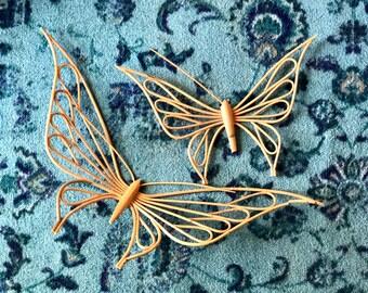 Vintage Butterfly Wall Art