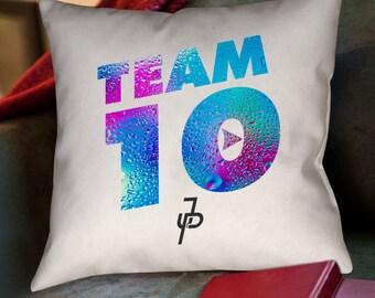 Jake Paul Team 10 Waterdrop Custom Zippered Pillow Case