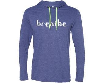 Breathe Travel Wander Men's T-Shirt Hoodie | Hiking Hoodie | Adventure Hoodie | Gift for men | Vintage | Valentines day gift | Wanderlust