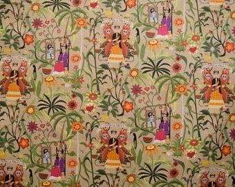 Frida fabric color beich