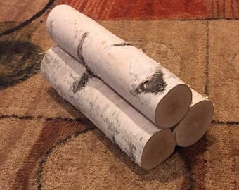 Birch Fireplace Logs
