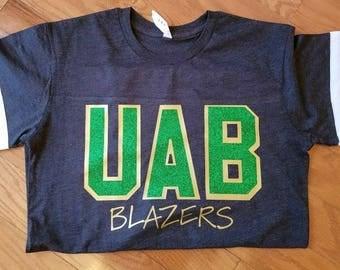 UAB Blazers Jersey Triblend Tee