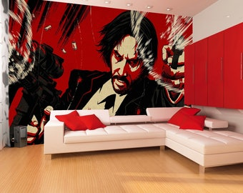 John  Wall Decal  Peel & Stick  Removable  High Quality Materials    DIY