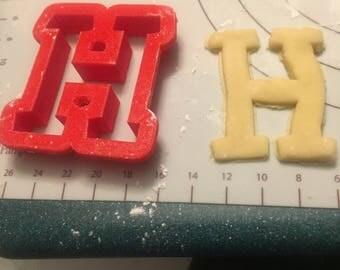 H cookie cutter